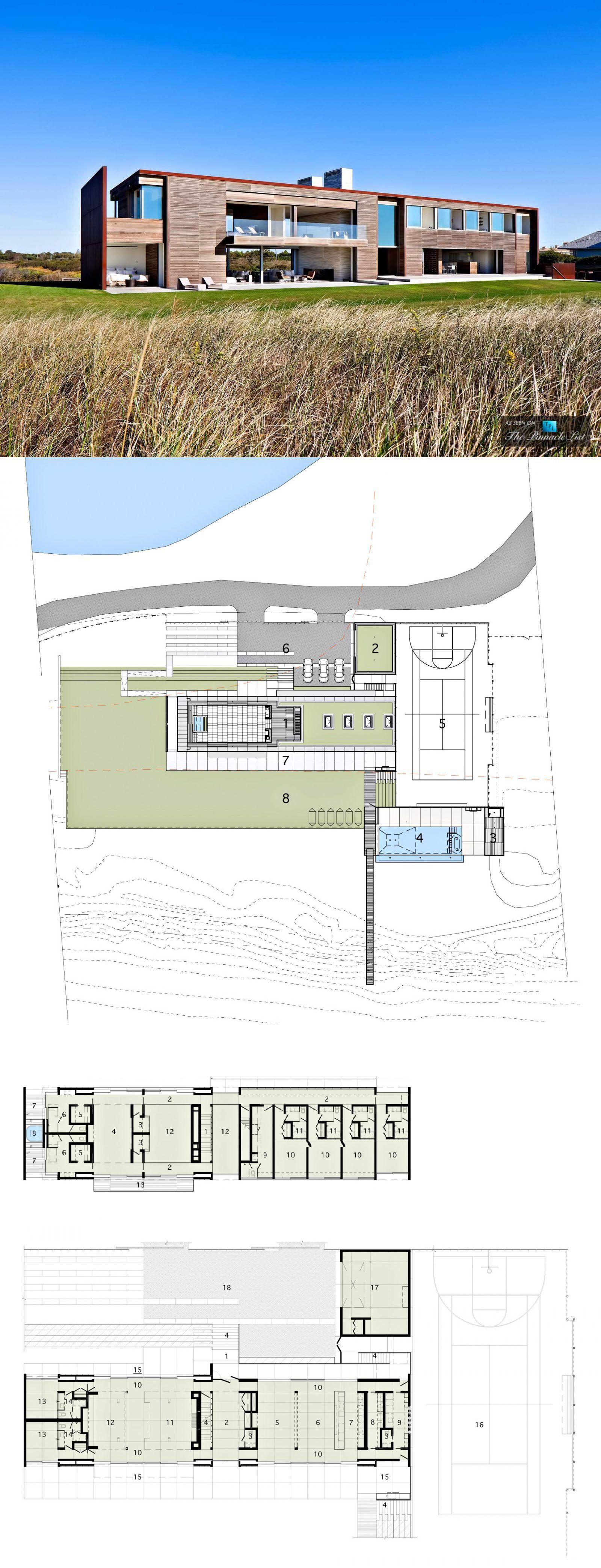 Hamptons Real Estate Showcase: 7 Fairfield Pond Ln, Sagaponack, NY, USA 🇺🇸