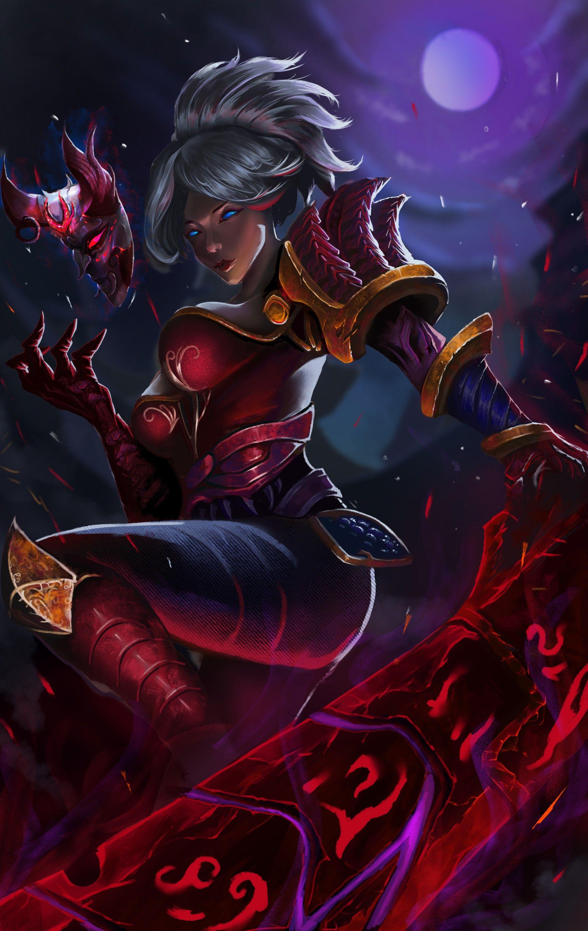 General 1920x3039 Fantasy Art Warrior Riven League Of Legends Lol League Of Legends League Of Legends Characters League Of Legends
