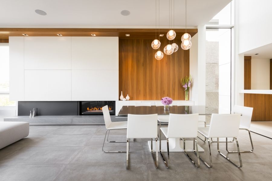 modern house interiors%0A This modern house was built in Vancouver on a x sloping lot The house is  bisected by a doubleheight space that fills the interior of the home with  light