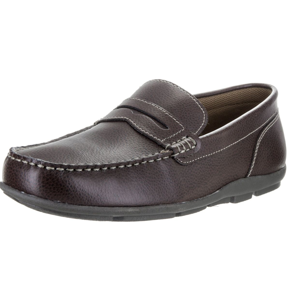 Tommy Hilfiger Men's Davey Black Loafers