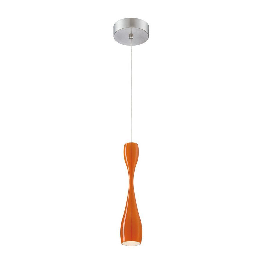 Shop Philips Sophia 2.2-in W Orange LED Mini Pendant Light with Tinted Shade at Lowes.com