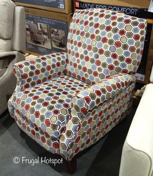 synergy home fabric pushback recliner costco frugalhotspot rh pinterest com