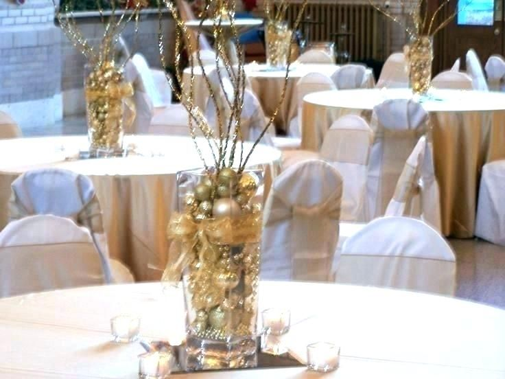 black and gold centerpieces for tables black and gold centerpieces rh pinterest com