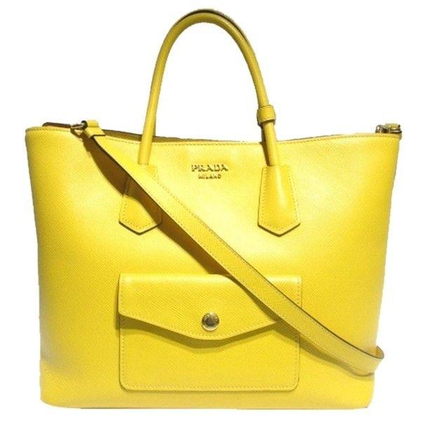 bc14dbb219a6 ... australia pre owned prada auth saffiano leather 2 way tote handbag  shoulder bag 1868 a0d4e 729c5