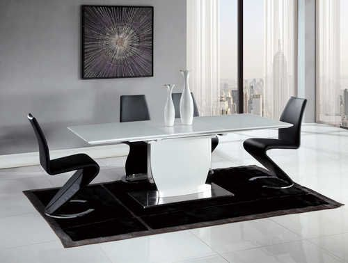 Dining Table D2279dt White Hg By Global Furniture Dining Table Furniture Global Furniture