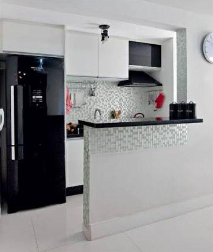 Decoração de espaços menores Cozinha