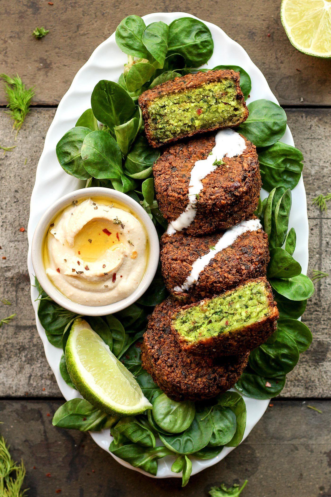 Magical green falafels recipe falafels vegans and falafel magical green falafels forumfinder Choice Image