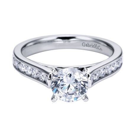 Timeless #gabrielco #engagement #ring