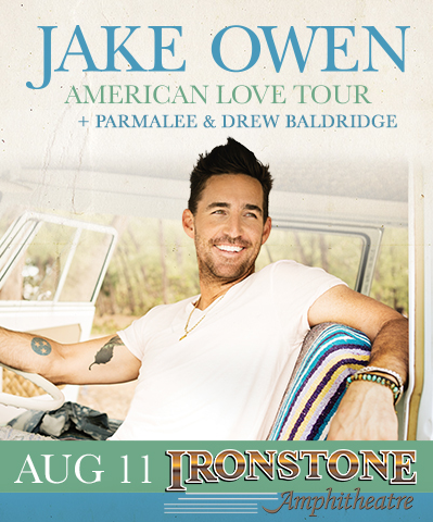 Enter to win two (2) tickets to see Jake Owen live at