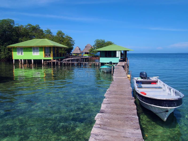 Crawl cay in Bocas del Toro Resort in Crawl Cay Bocas del Toro Panama