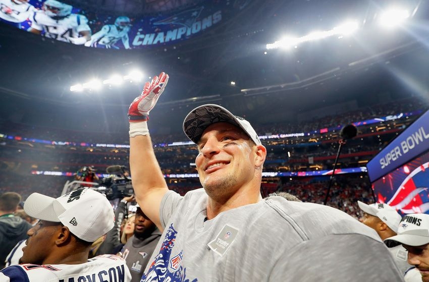 New England Patriots Rob Gronkowski made the right