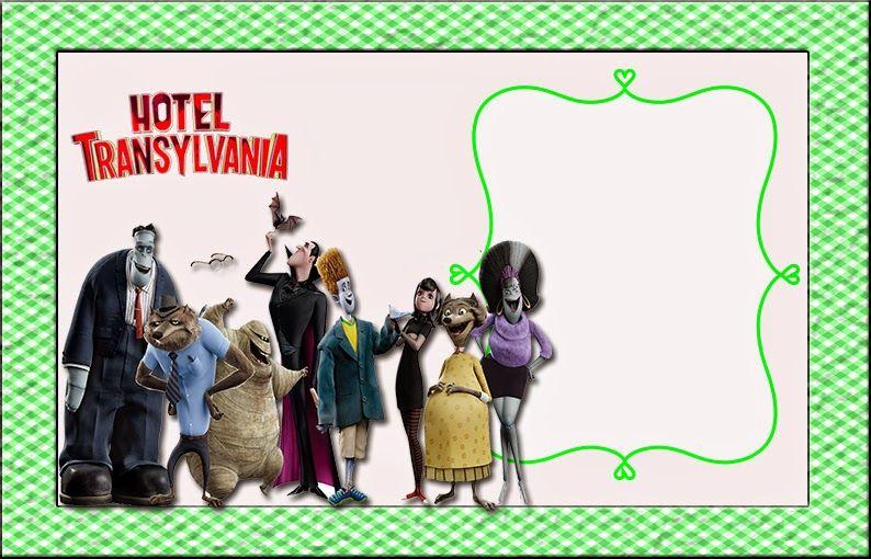 Hotel Transylvania Invitaciones Para Imprimir Gratis