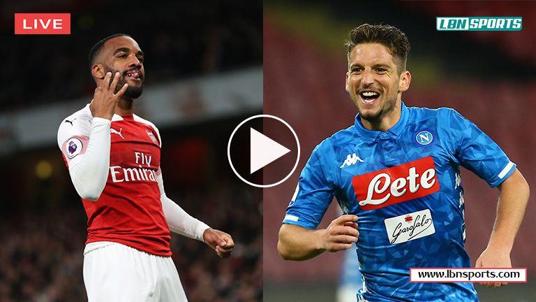 Arsenal vs Napoli LIVE! Reddit Soccer Streams 11 Apr 2019
