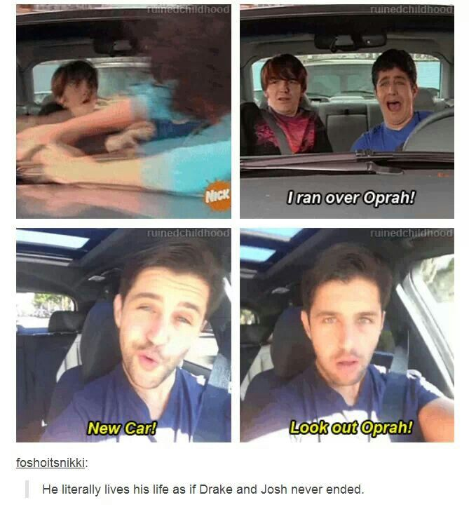 They Both Do Tumblr Funny Drake Josh Funny Pictures