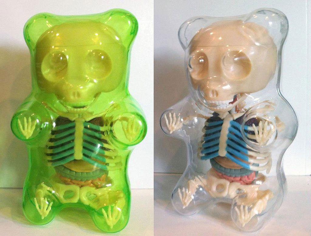 Anatomical Gummi Bear Jason Freeny 2012 Vinyl Toys We Like