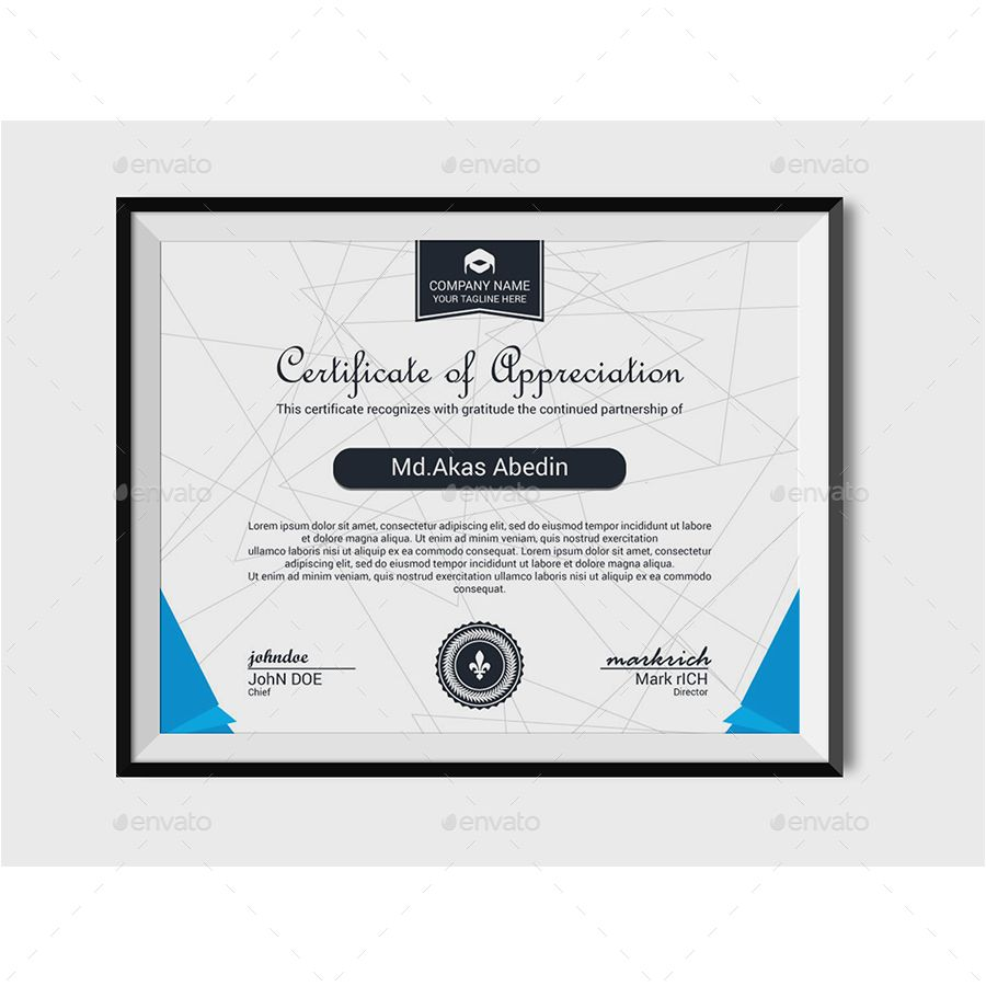 this is a certificate template this template download contains a