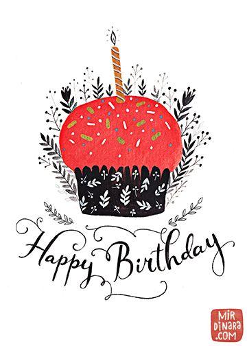Cupcake Mirdinara Happy Birthday Messages Best Quotes Cupcakes Baby