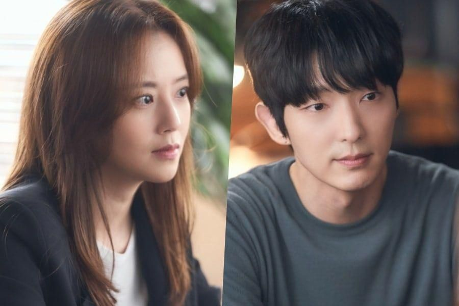 """Moon Chae Won And Lee Joon Gi Pretend Nothing Is Out Of The Ordinary In """"Flower Of Evil"""""""