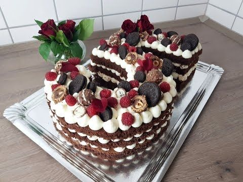 Zahlen Torte / Number Cake ♥ P&S Backparadies #numbercakes