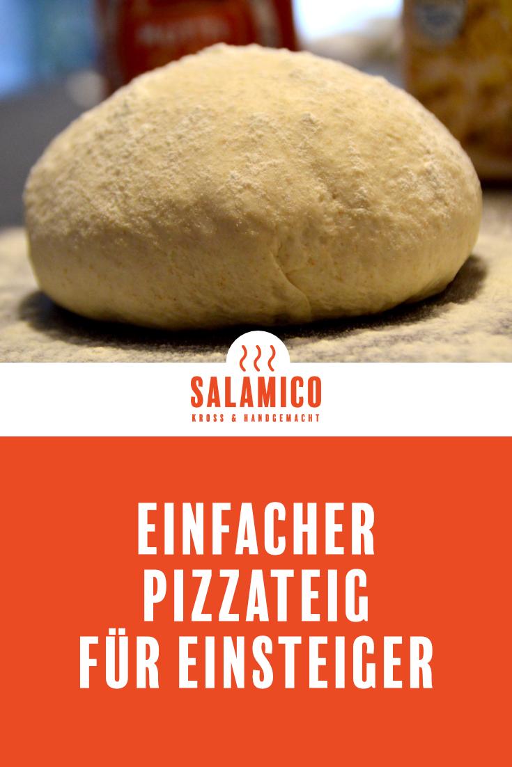 Der schnelle Pizzateig mit Trockenhefe ist ideal für Einsteiger und schmeckt so gut wie beim Italiener. #pizzateigmittrockenhefe