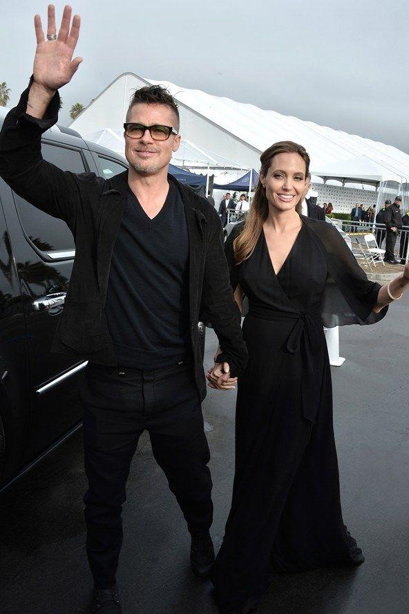 Celebrity Style - Angelina Jolie - monstylepin #fashion #celebrity #style #angelinajolie