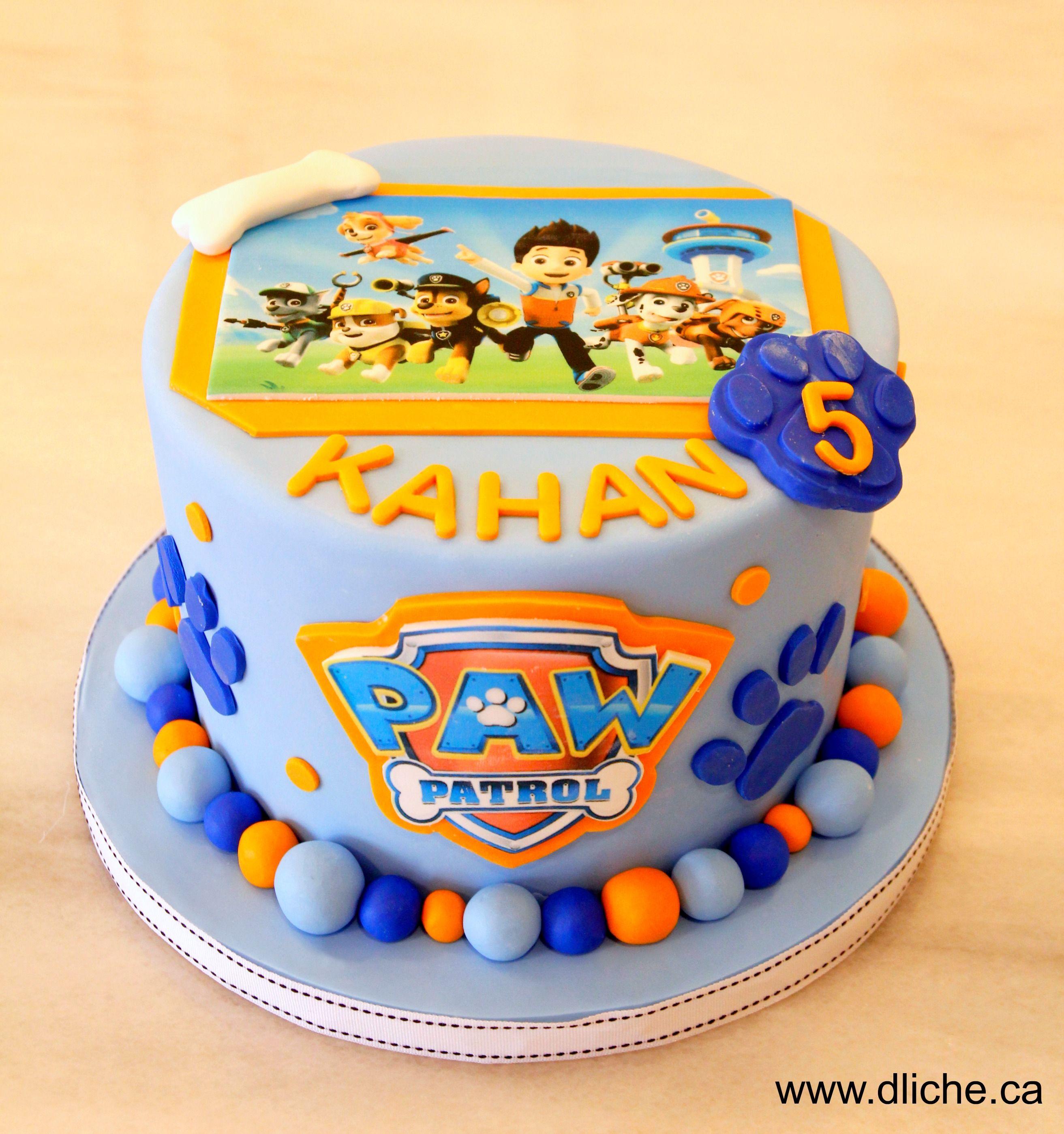 Gâteau Pat Patrouille Paw Patrol Cake Simplement D Liche