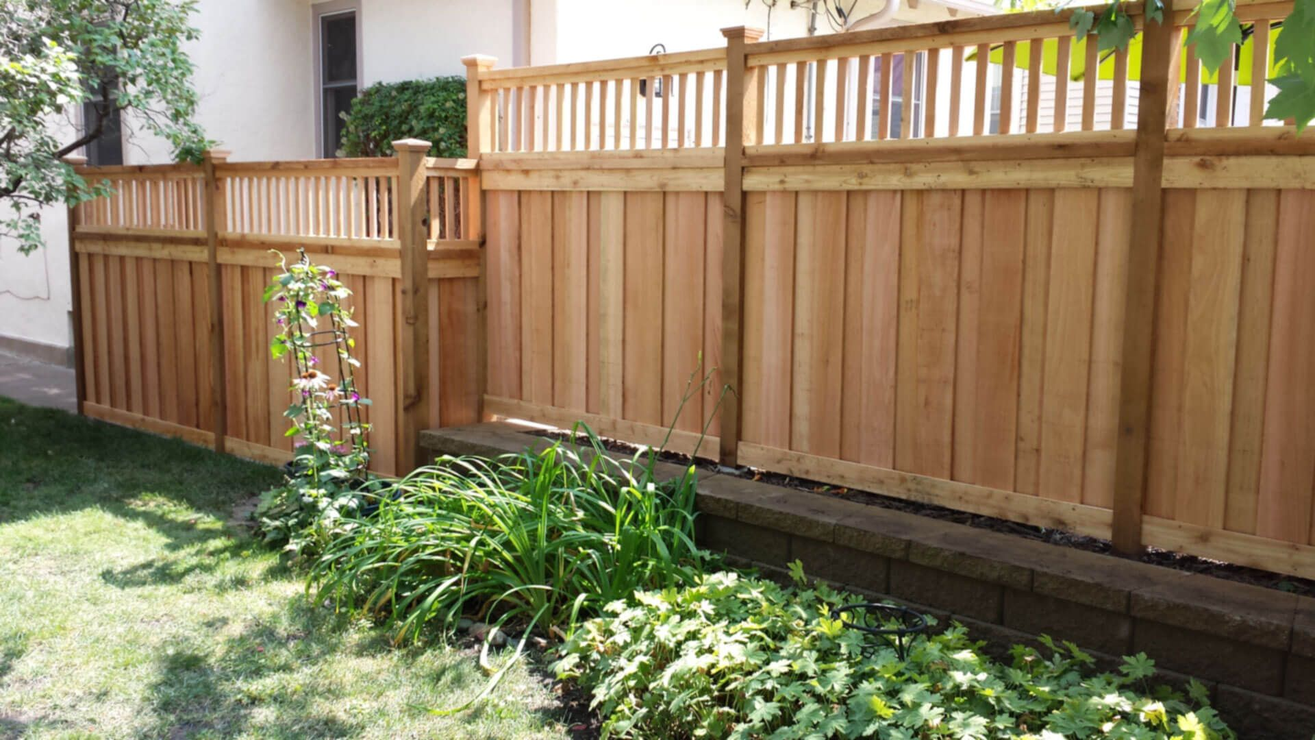 Wood Privacy Fence in St Paul, Lakeville, Twin Cities ...