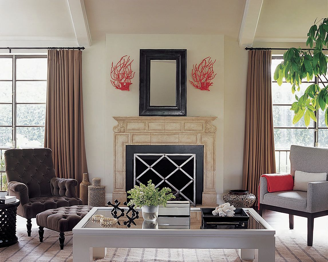 living room fireplace contemporary living room images by rh pinterest com