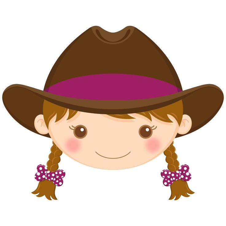 brown hair cowgirl lady cute pinterest rh pinterest co uk baby cowboy clip art free free baby cowboy clipart