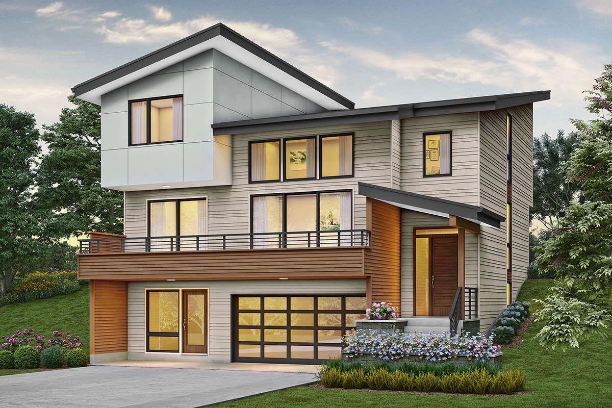 House Plan 2559-00818 - Modern Plan: 2,827 Square Feet, 4 ...