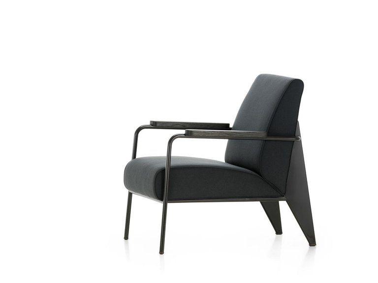 Modern Design Fauteuil.Jean Prouve Armchair Vitra Fauteuil De Salon Swiss Mid Century