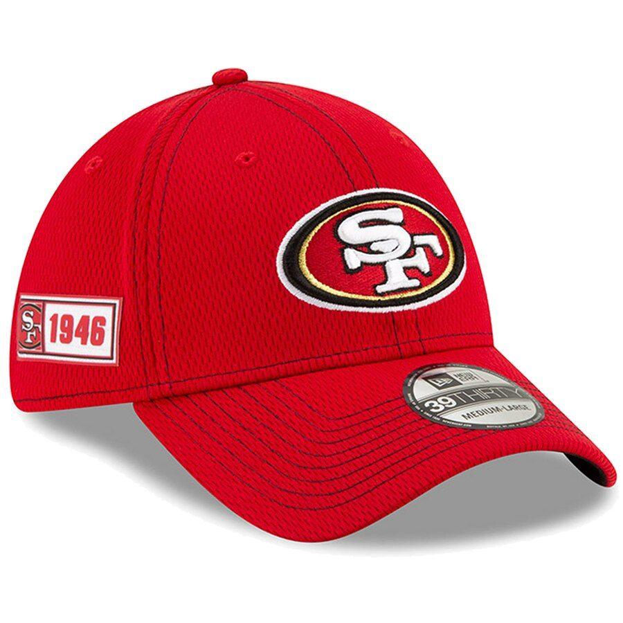 New Era 39Thirty Cap Sideline Away San Francisco 49ers