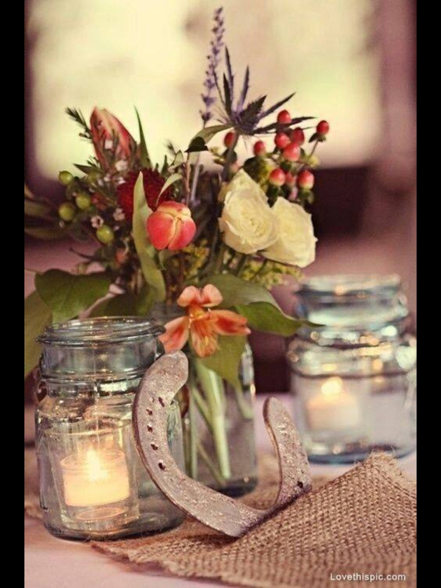 Table ideas wedding Pinterest