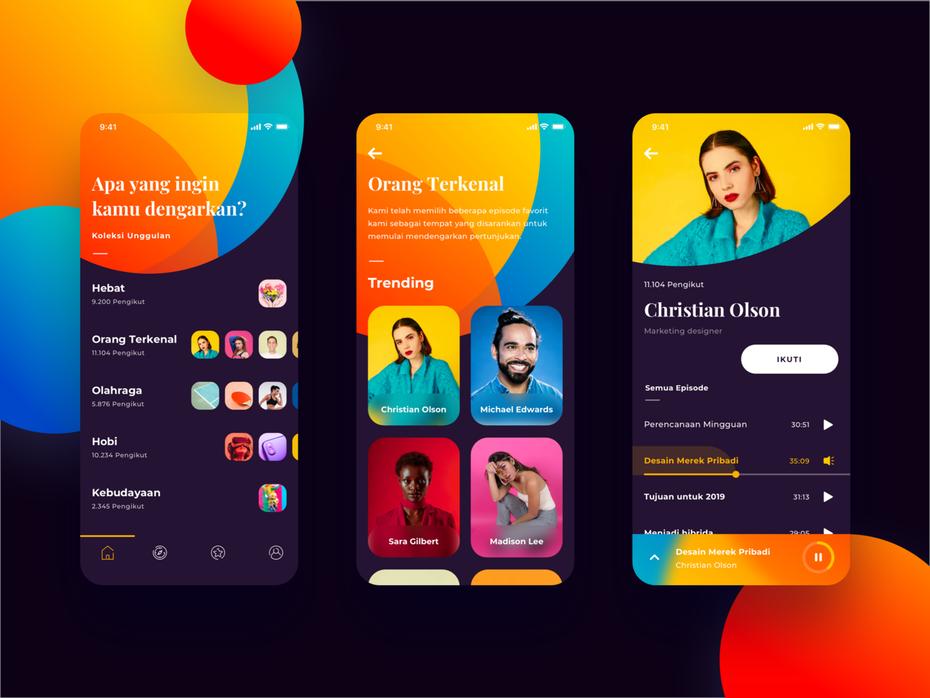 The 9 Biggest App Design Trends 2020 In 2020 App Design Trends App Interface Design App Design
