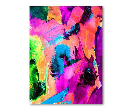 Digitaler Leinwanddruck Under The Bridge, 90 x 120 cm