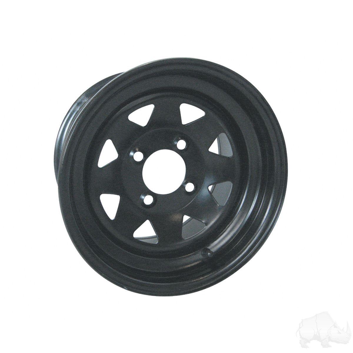 Steel Black 12x7.5
