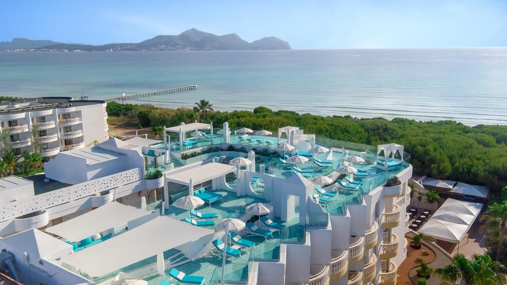 AUD 150 Situated on Playa Muro Beach, this stylish hotel has a Spa Sensations, a tennis court, 2 ...