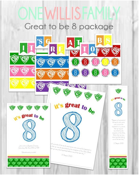 This CTR great to be 8 pack contains everything youll need for your ...