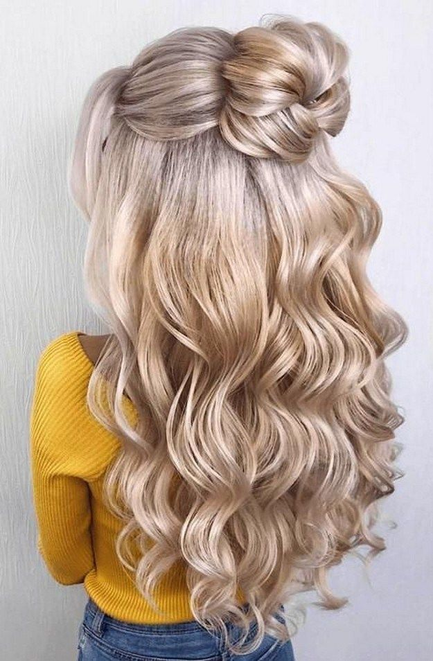 40 Cute And Adorable Bun Hairstyles 2020 Dance Hairstyles Bun Hairstyles Cute Bun Hairstyles