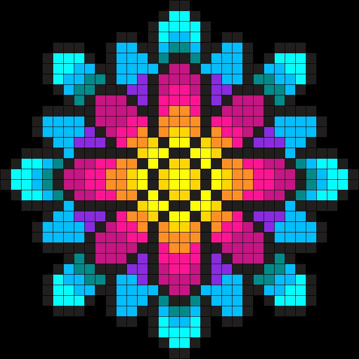 Something Wonderful Perler Bead Pattern Bead Sprite Crochet Inspiration Melty Bead Patterns