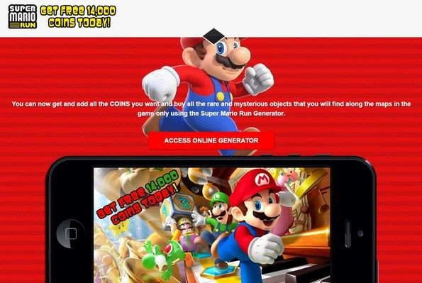 #SuperMarioRunHack 14,000 Coins Super Mario Run a DAY - Get Free Coins Today!