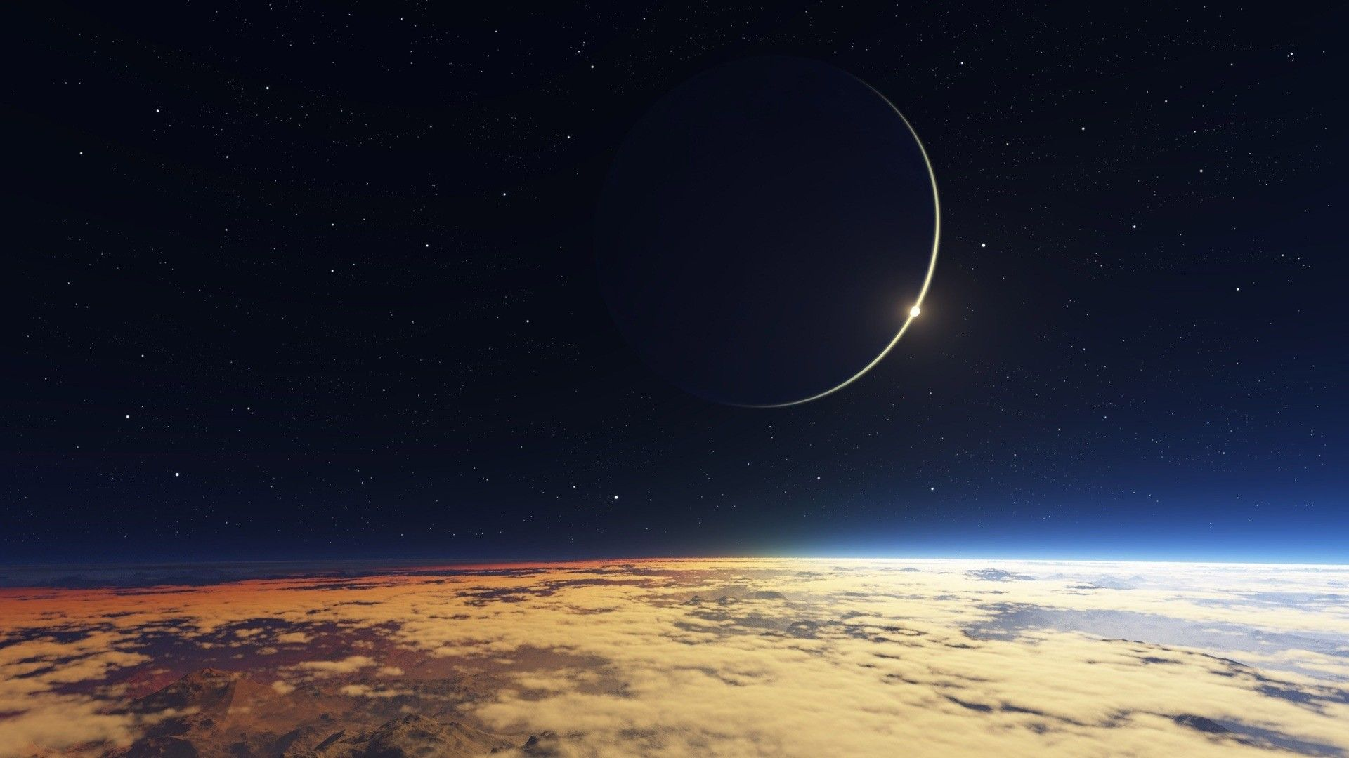 Res 1920x1080 Moon And Earth Backgrounds Space Wallpaper