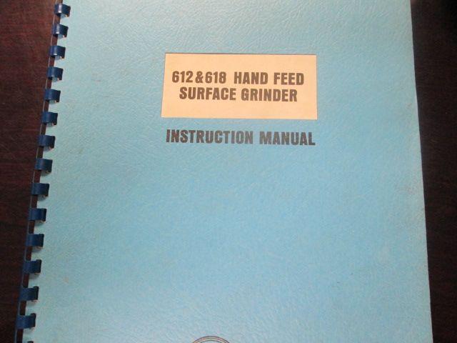 Harig 612 618 Instruction Manual Tech Company Logos