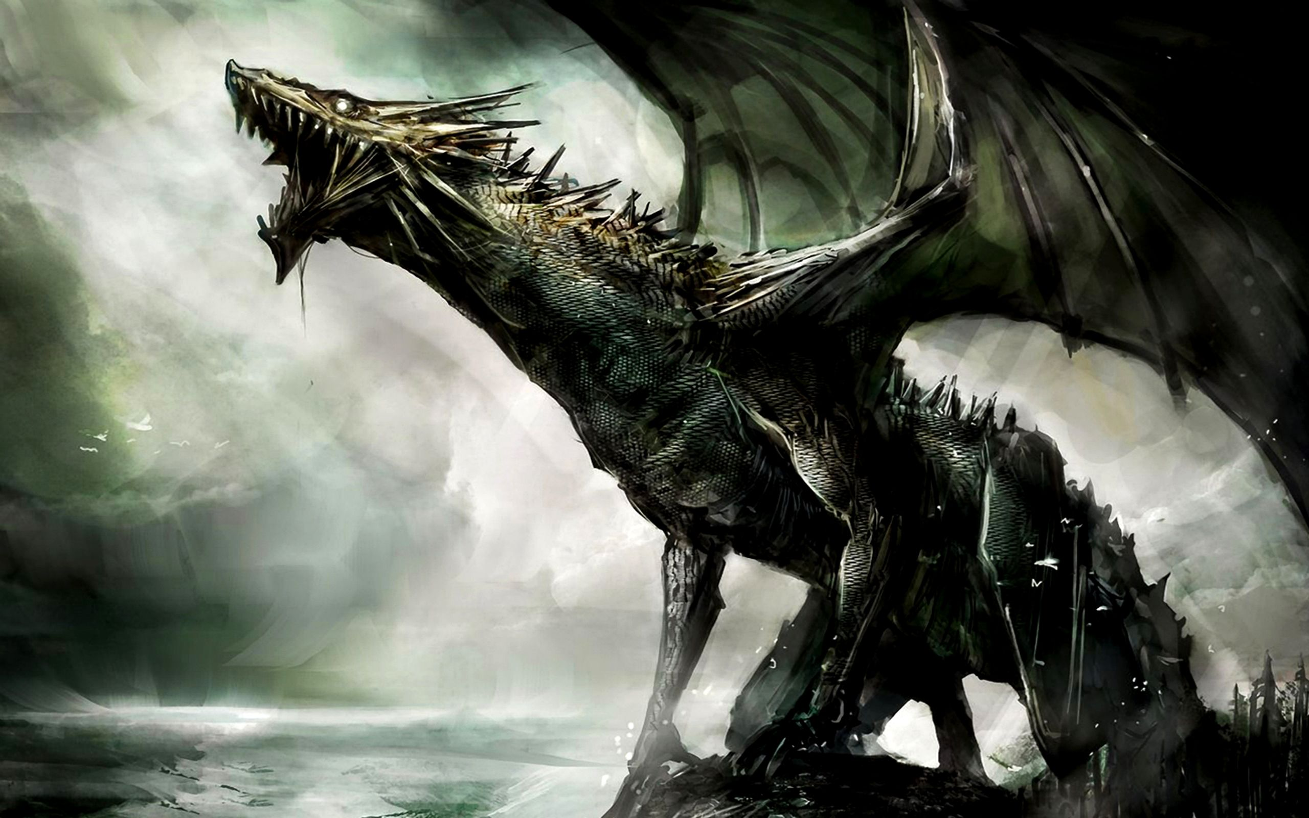 Dragon | Fantasy Dragon - Dragons Wallpaper (27155051 ...