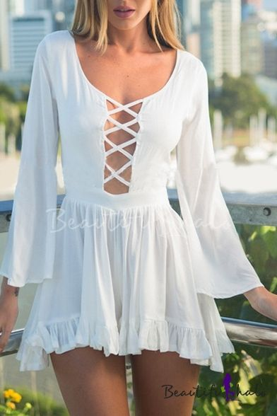 0527645a6e41 I like this. Do you think I should buy it  White Romper