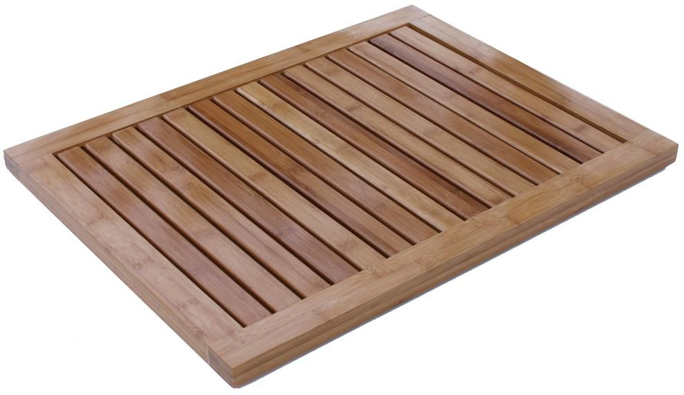 Surpahs Bamboo Fiber Bread Cutting Board with Crumb Catch