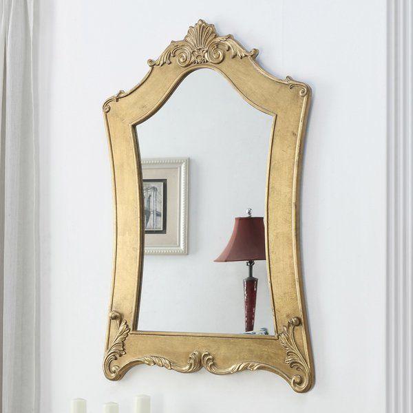 Penrith Mirror Reviews Birch Lane Wood Framed Mirror Gold Framed Mirror Convenience Concepts