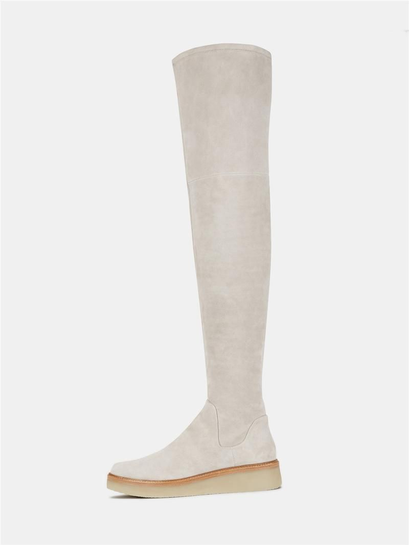 84798a9bd2d DKNY Kyra Stretch Suede Thigh High Boot.  dkny  shoes