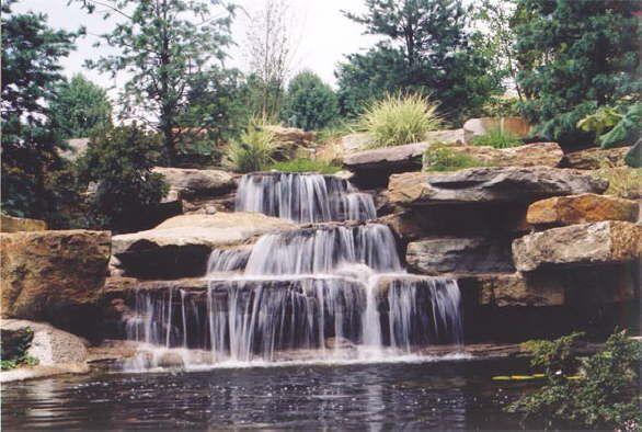 Pools And Waterfalls By Mike Hodak Outdoor Waterfalls Dream Pools Waterfall