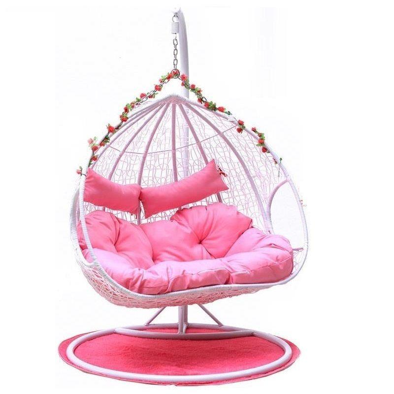 Hanging basket wicker living room hammock indoor household single ...